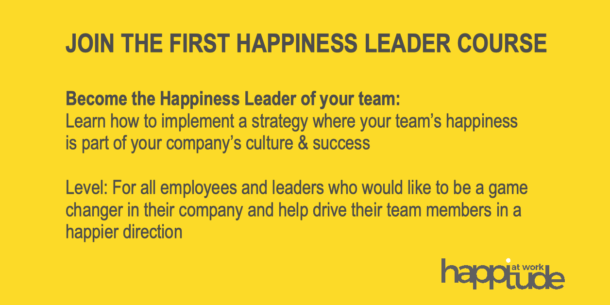 Happiness Leader Course Zurich