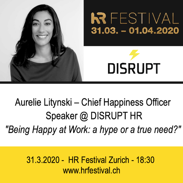 Happiness at work HR Festival Zurich